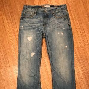 BKE Jeans - Buckle BKE TYLER Bootcut distresses size 33L